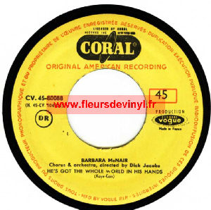 Barbara McNair - He's Got The Whole World In His Hands
